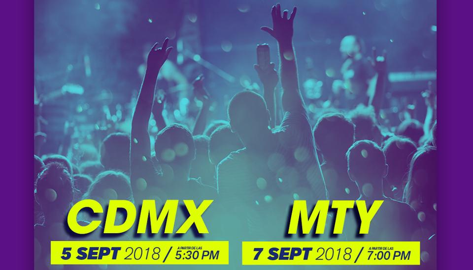¡Latido Latino llegará por primera vez a Monterrey y CDMX!
