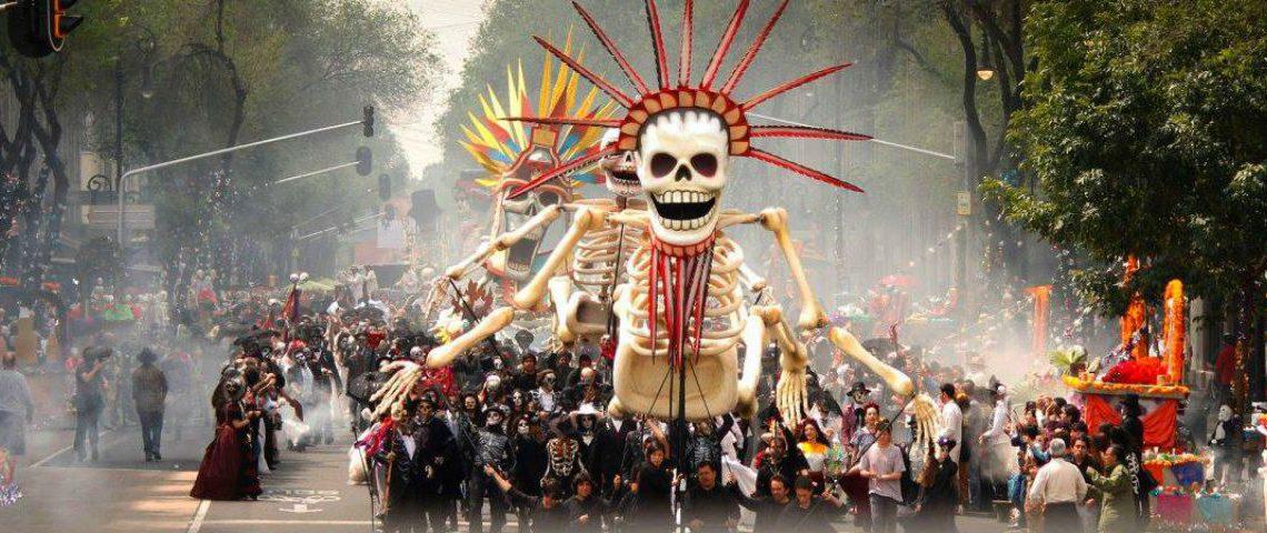 Razones super cool para lanzarse al festival de los muertos ¡chequen!